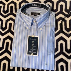 BRAND NEW club room dress shirt